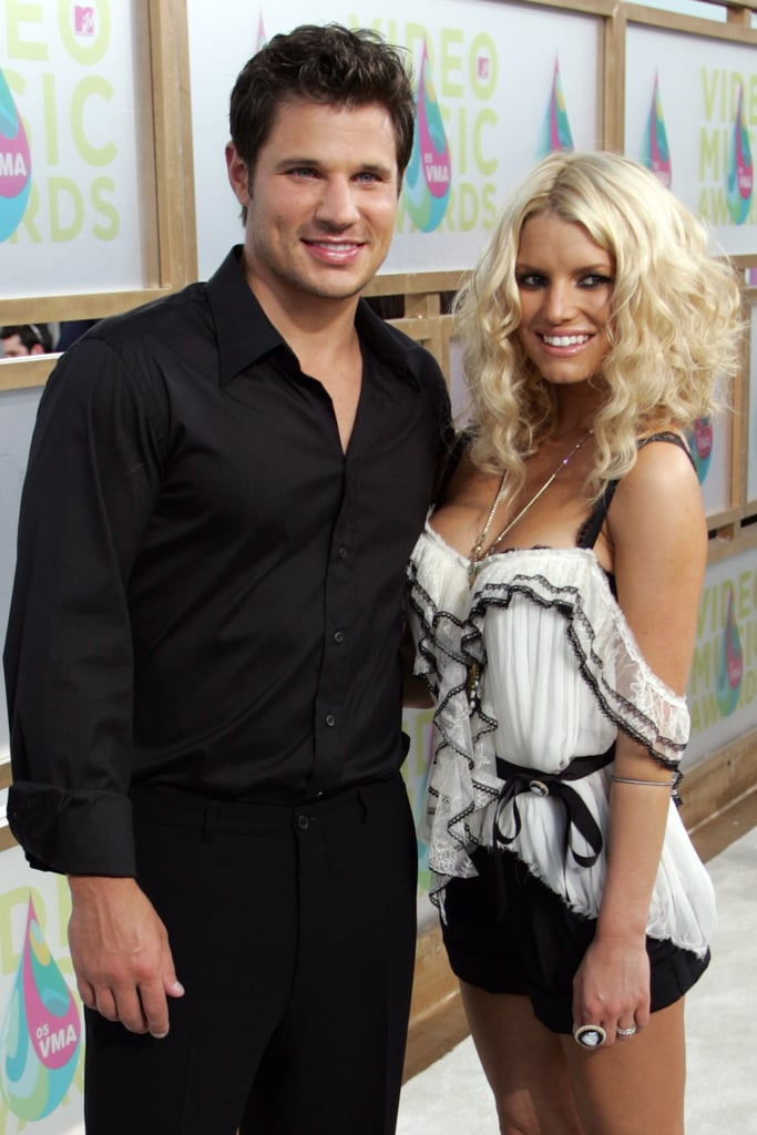 Nick Lachey and Jessica Simpson, 2005
