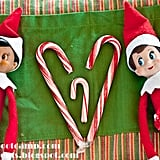 Elf on the Shelf and Candy Cane Pregnancy Announcement