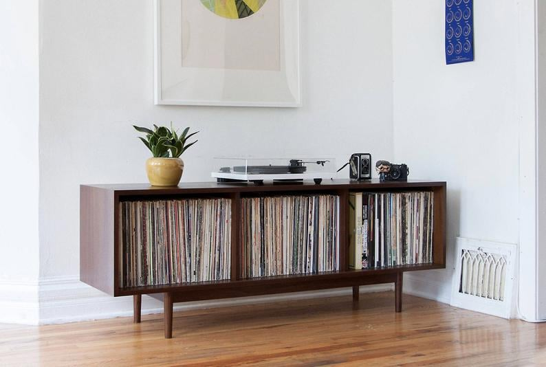 Large Record Storage Cabinet