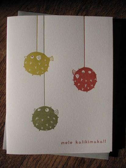 Holiday Card Guide:  A Hawaiian Merry Christmas