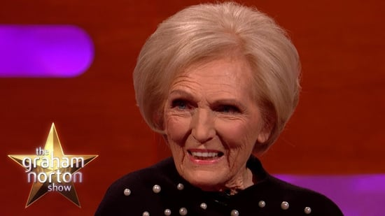 Mary Berry Arrested at the Airport on Graham Norton Show
