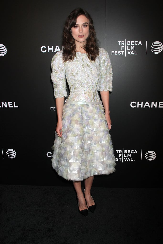 Keira Knightley at the Tribeca Film Festival  Closing Night Gala Premiere Of Begin Again