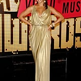 2007: Beyoncé walked the red carpet looking like a golden goddess.
