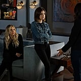 Aria knows every woman should own a trusty denim jacket.