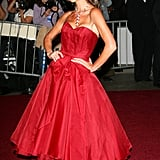 Victoria's Met Gala Gown