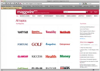 Find Popular Magazine Articles on Maggwire