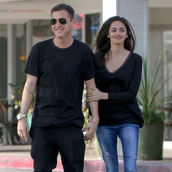 Bryiana and Rob Dyrdek Out in LA March 2016