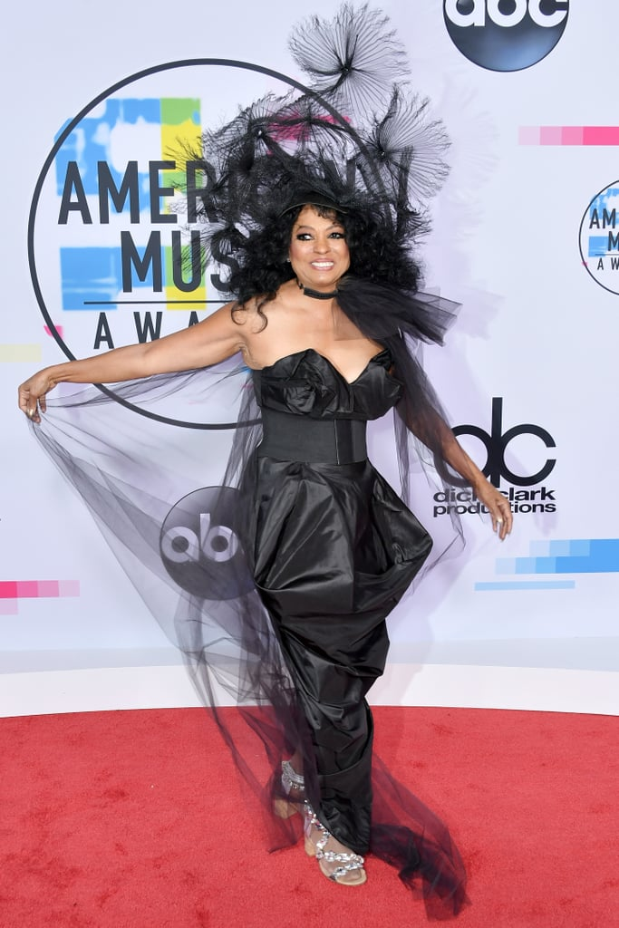 If You Thought Diana Ross's Headpiece Was the Best Part of Her Outfit, Think Again