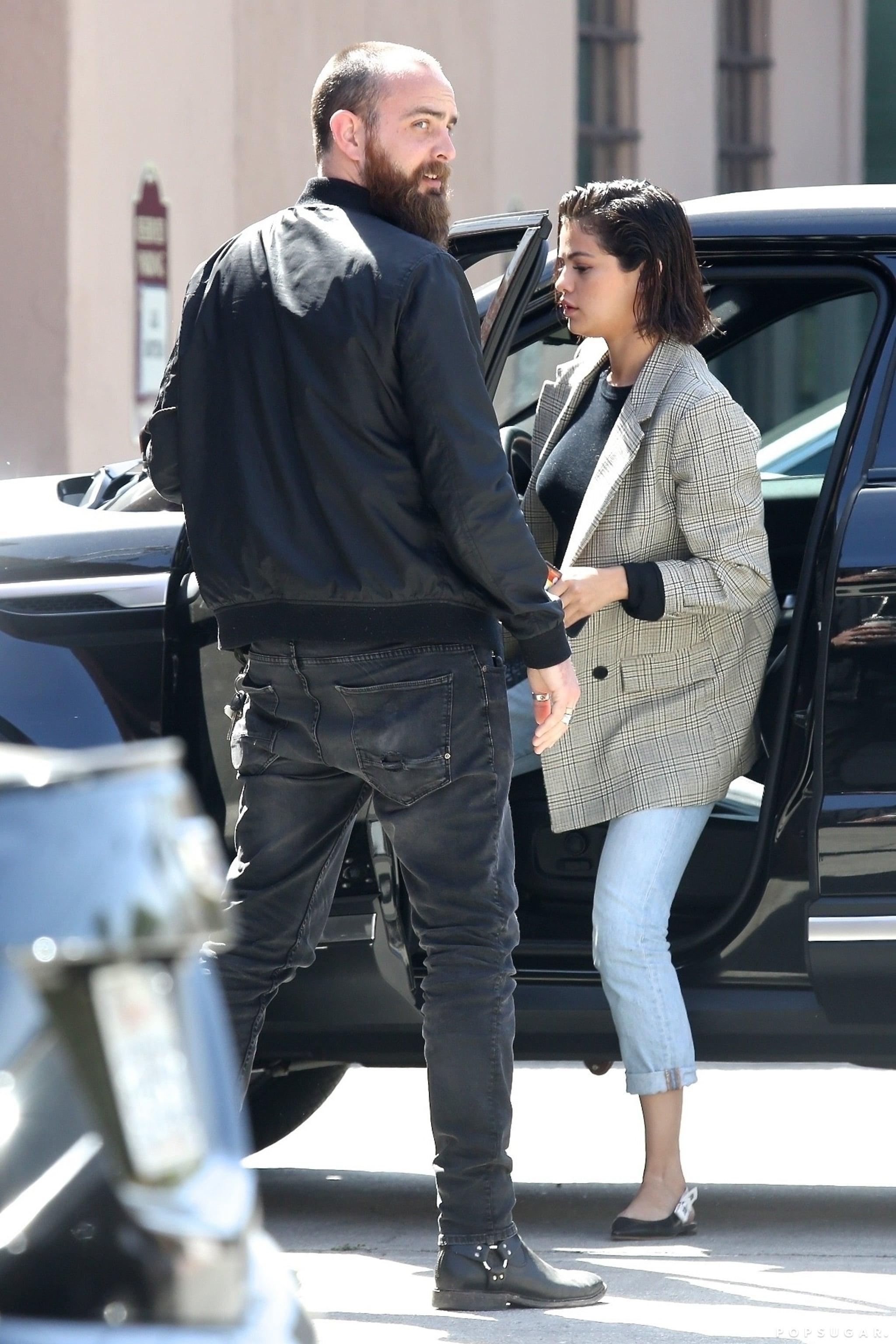 Selena Gomez Dior Slingback Shoes Popsugar Fashion