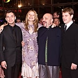 She walked the red carpet with Jude Law, Matt Damon, and late director Anthony Minghella for the Berlin Film Festival premiere of The Talented Mr. Ripley in February 2000.