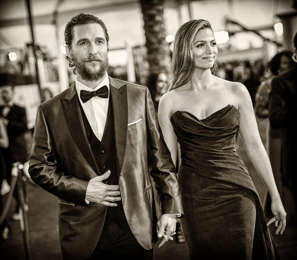 The picture-perfect pair were the epitome of Old Hollywood glamour at the 2015 SAG Awards.