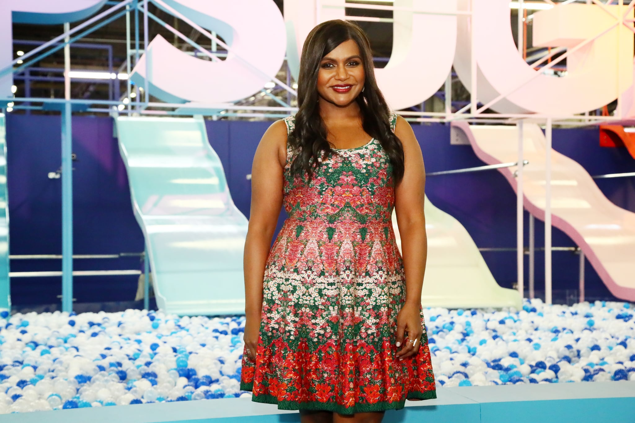 NEW YORK, NY - JUNE 09:  Mindy Kaling attends day 1 of POPSUGAR Play/Ground on June 9, 2018 in New York City.  (Photo by Astrid Stawiarz/Getty Images for POPSUGAR Play/Ground)