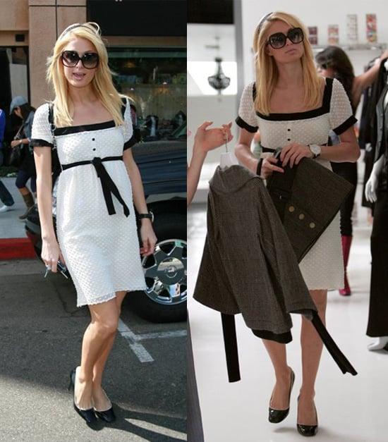 Paris: A Shopping Vision in White
