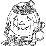 Candy in a Pumpkin Printable