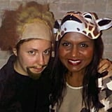 Mindy Kaling and Lena Dunham