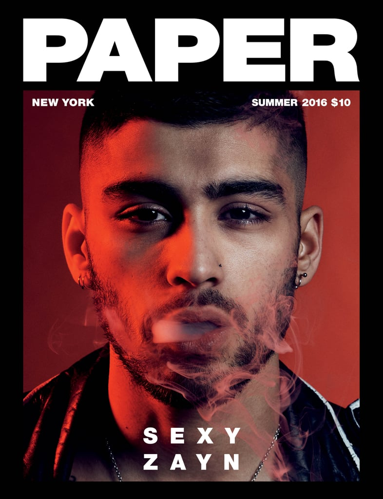 Zayn Malik in Paper Magazine's Summer Issue 2016
