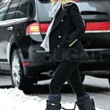Pictures of Gwyneth Paltrow in the NYC Snow