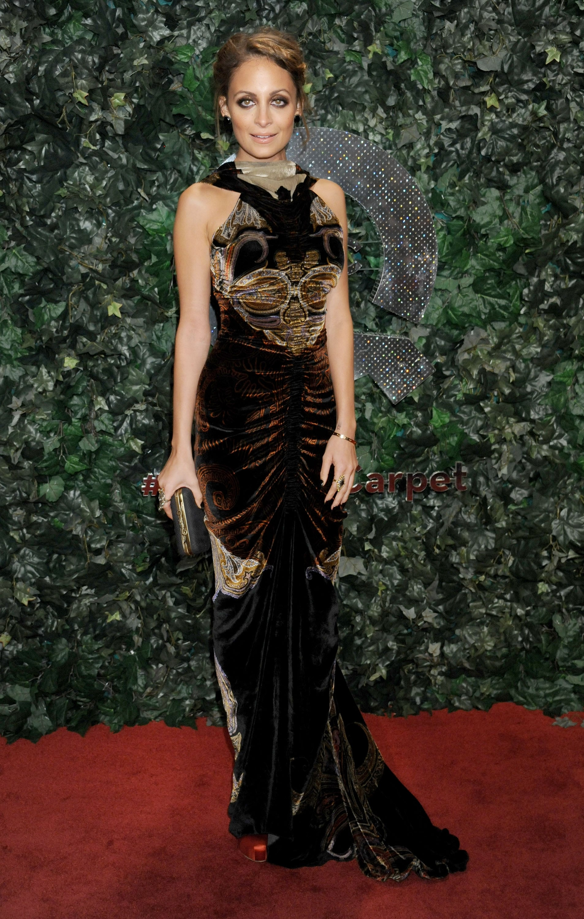 After launching a clothing line for QVC, Nicole hit the red carpet for the company's big LA bash in February 2013.