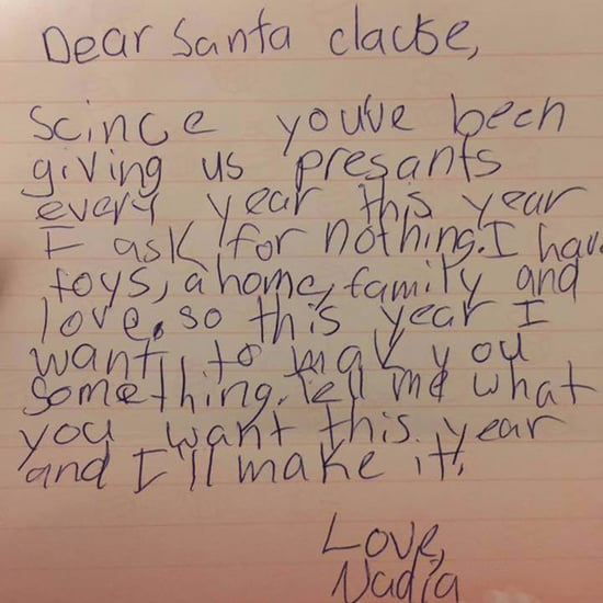 Girl's Letter to Santa Asking For Nothing