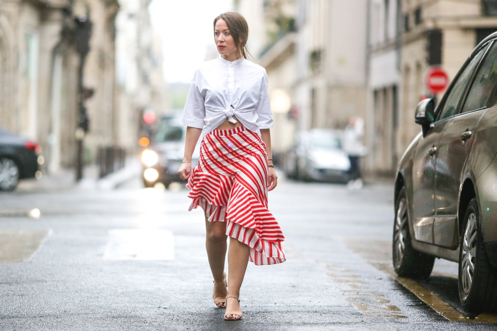 Beat the heat — and turn a few heads — with an asymmetrical skirt.