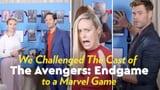 Avengers: Endgame Cast Video Interview