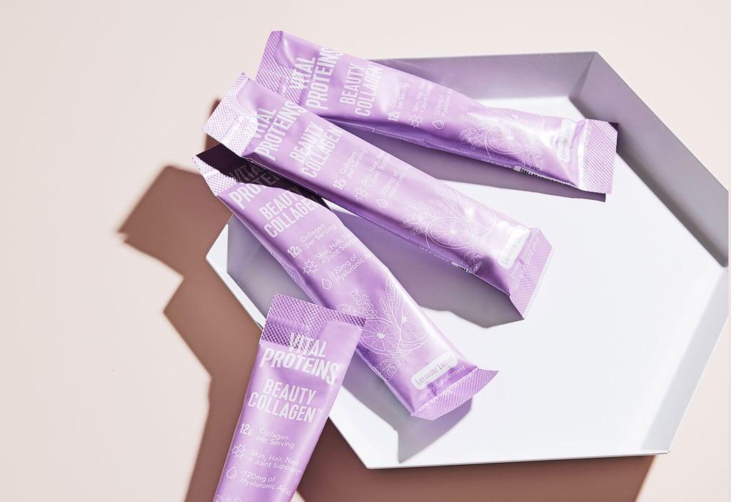 Vital Proteins Lavender Lemon Beauty Collagen Stick Pack Box