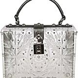 Dolce & Gabbana Transparent Glass Shoulder Bag