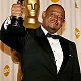 Forest Whitaker hit the press room after winning best performance by an actor for his role in The Last King of Scotland.