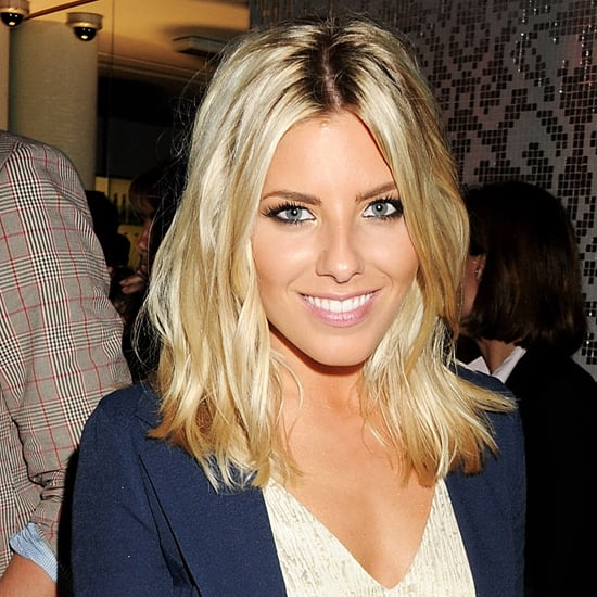Mollie King Wearing Brown Accessories
