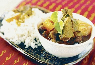 Fragrant Beef Dinner From Indonesia