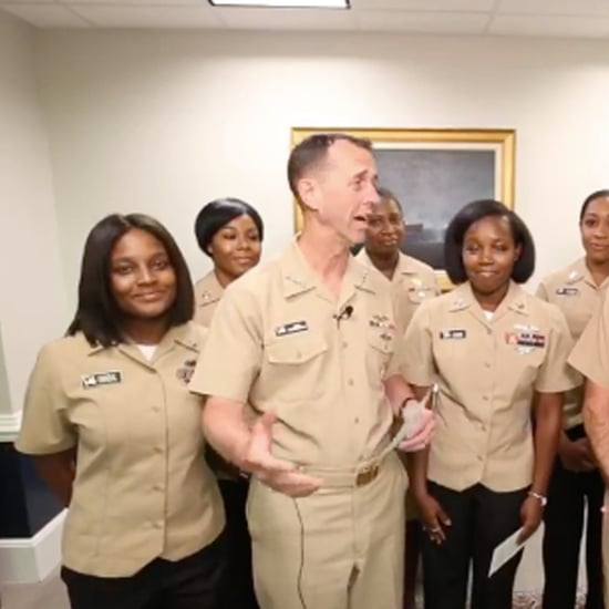 US Navy Allows Women to Wear Their Natural Hair