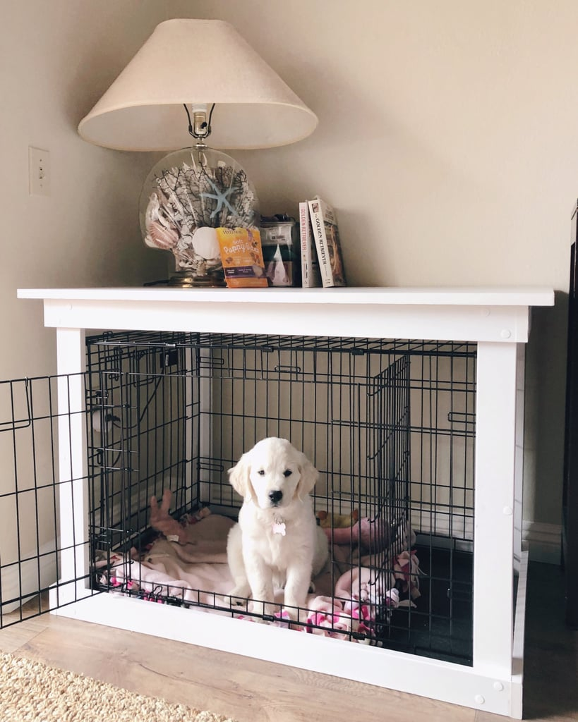 The Final Product | DIY Dog Crate | POPSUGAR Home Photo 7