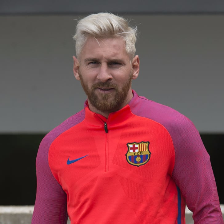 Lionel Messi Blonde Hairstyle 2016 - InspirationSeek.com