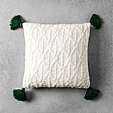 Hearth & Hand With Magnolia Knit Tassel Throw Pillow