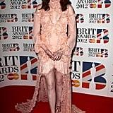 Florence Welch in Alexander McQueen.
