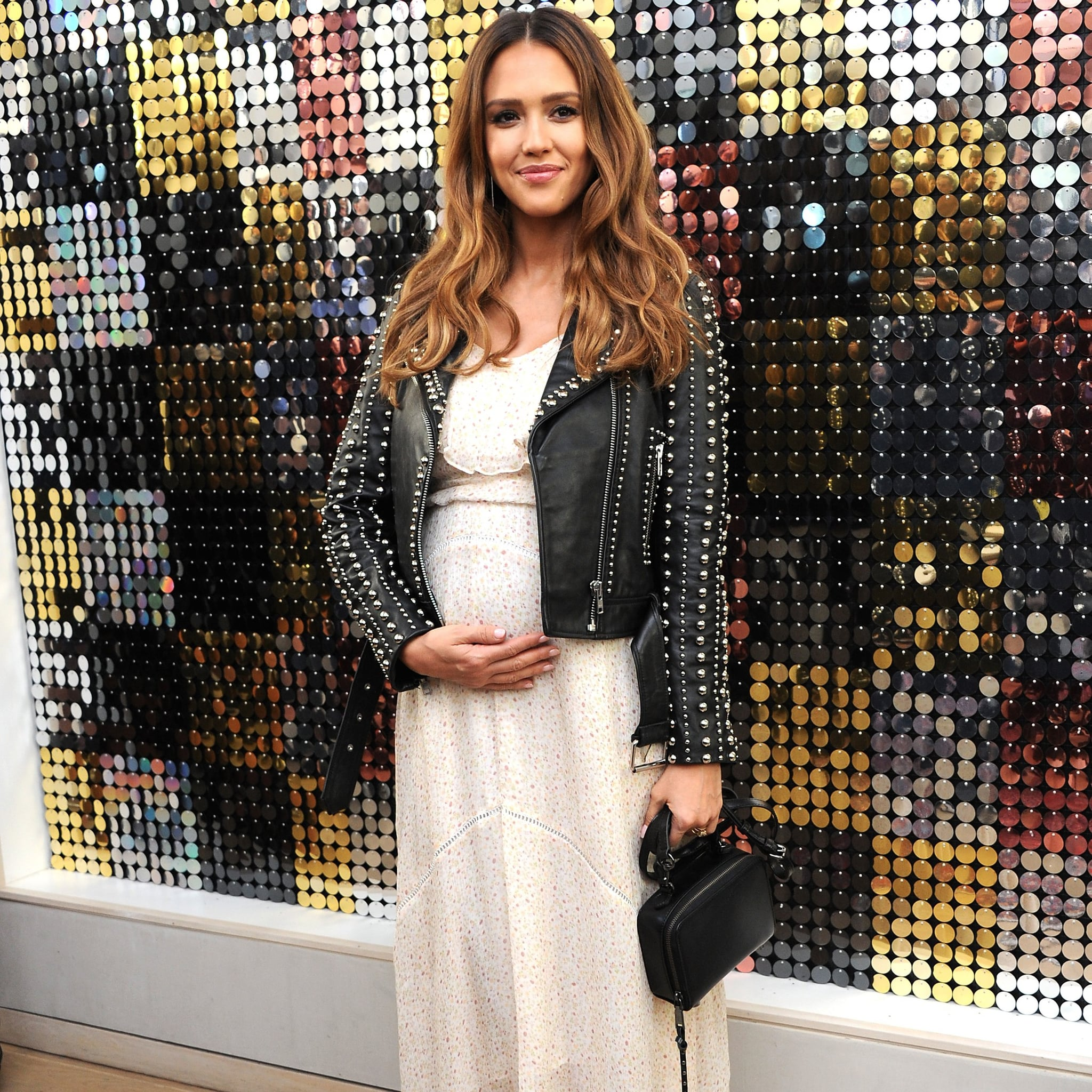 Jessica Alba Pregnancy Style