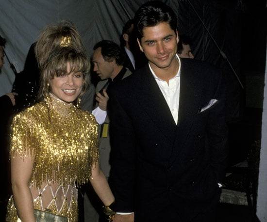 Paula Abdul arrived hand in hand with John Stamos in 1990 (yep, they dated).