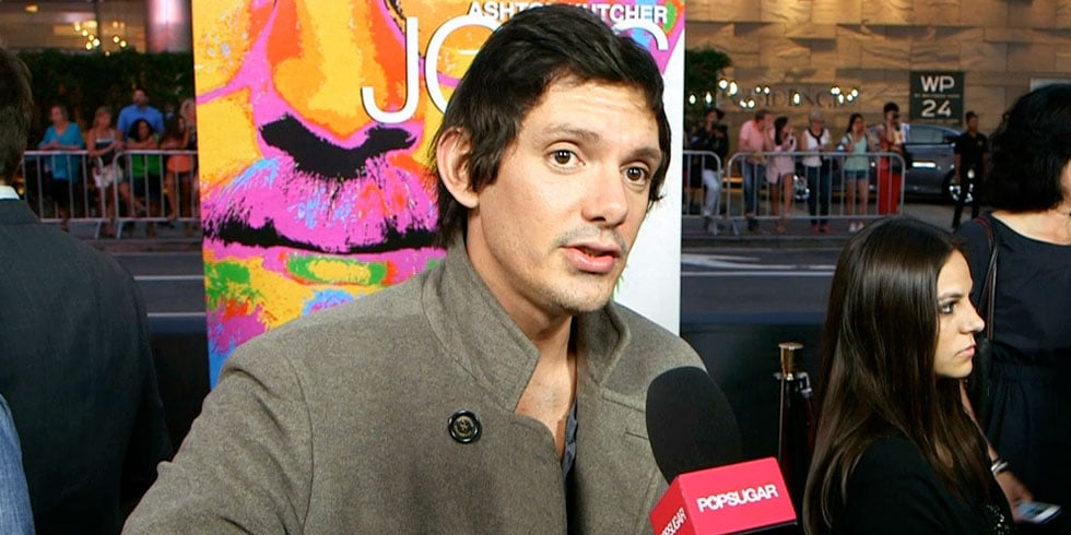 Lukas Haas Talks Ashton Kutcher as Steve Jobs and Leonardo DiCaprio's Flyboard Adventure
