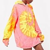 Urban Renewal Vintage Oversized Tie-Dye Hoodie Sweatshirt