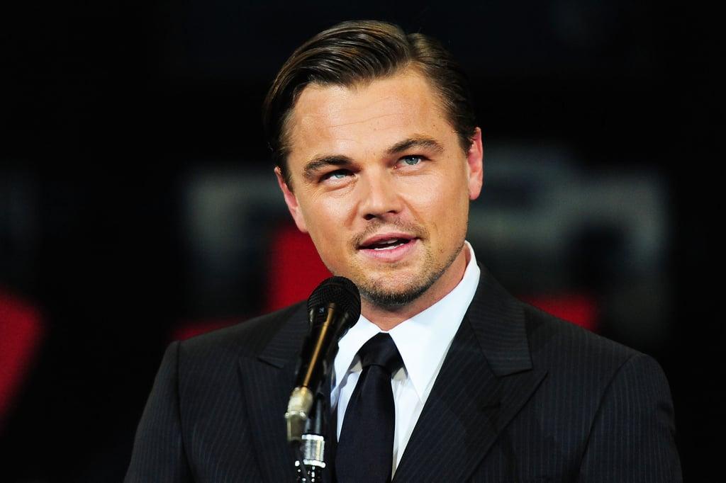 Pictures of Leonardo DiCaprio in Japan
