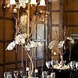 Elegant Crystal Centerpieces