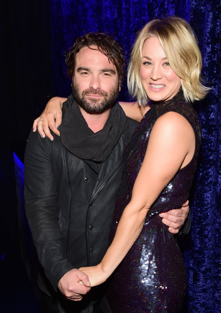 Cuoco dating costar johnny galecki married
