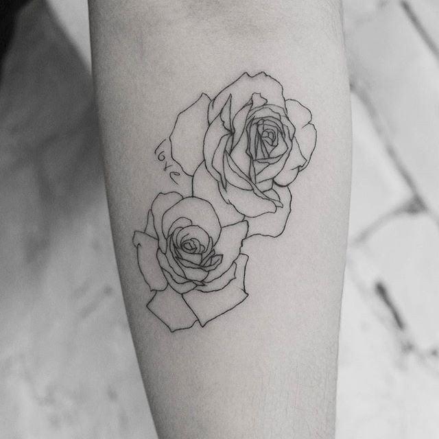 Small Rose Tattoos Popsugar Beauty