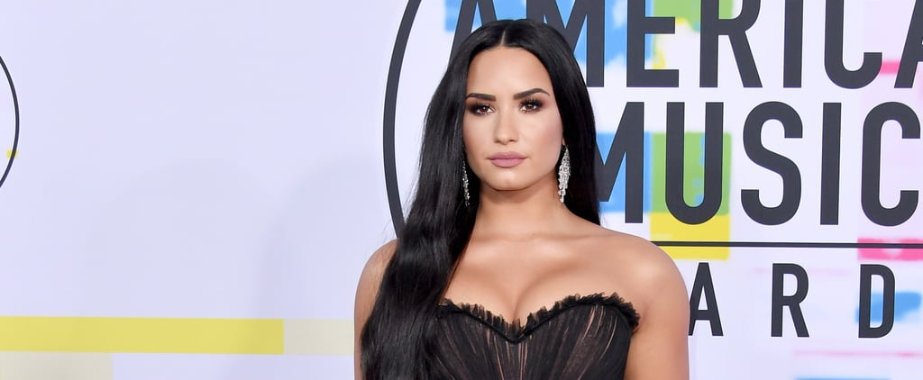 Demi Lovato Came to the AMAs in a Dress You'll Fall Madly in Love With