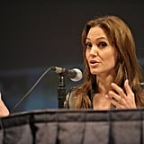 Angelina Jolie at Comic Con