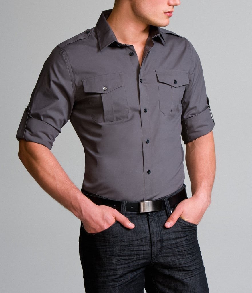 MK2 Fitted Stretch Cotton Shirt