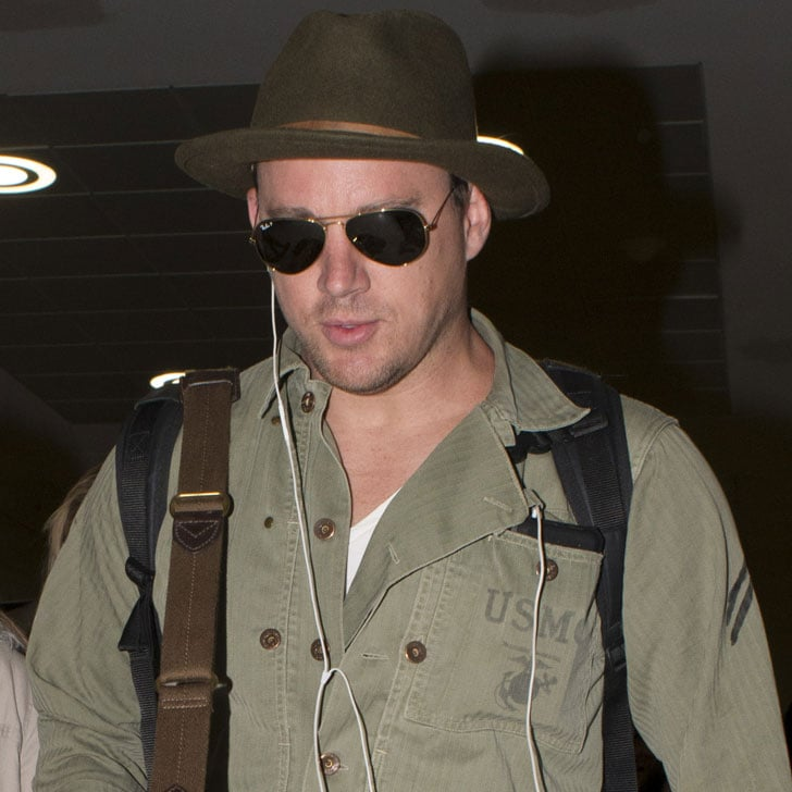 Pictures of Channing Tatum and Joe Manganiello in Sydney