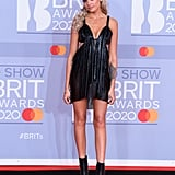 Becca Dudley at the 2020 BRIT Awards in London