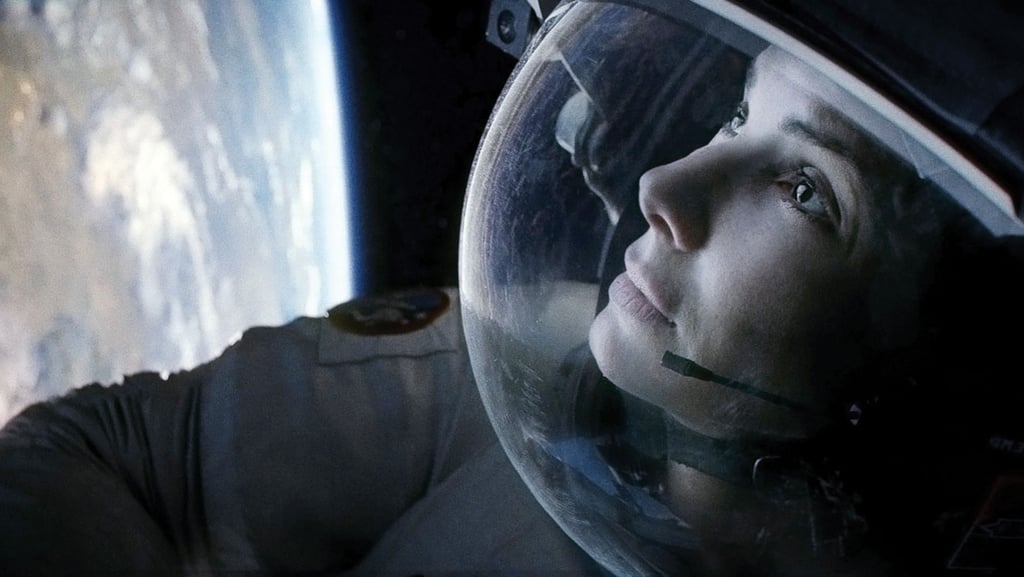 Dr. Ryan Stone in Gravity