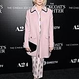 Lucy Boynton at a screening of The Blackcoat's Daughter at Landmark Sunshine Cinema